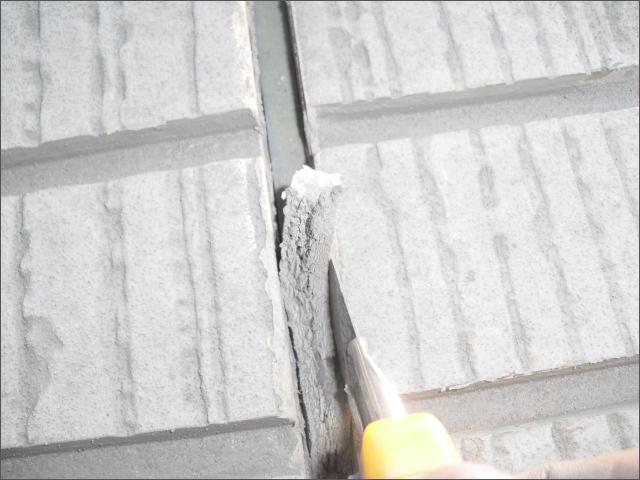 外壁の既存シールの撤去・シール打ち直し・シール増し打ち